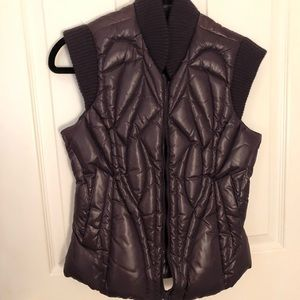 Bcbg purple vest